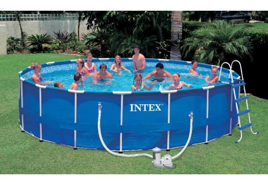 Intex 28252, каркасный бассейн 549 x 122 см Metal Frame Pool