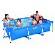 Intex 28270, каркасный бассейн 220 x 150 x 60 см Rectangular Frame Pool