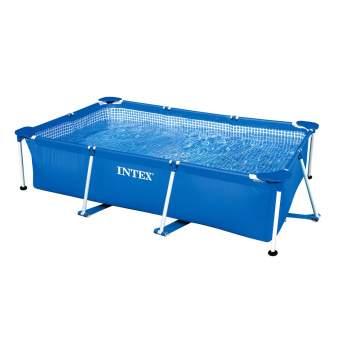 Intex 28271, каркасний басейн 260 x 160 x 65 см Rectangular Frame Pool