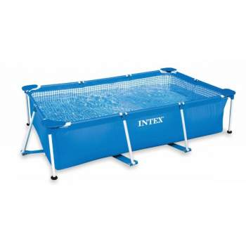 Intex 28272, каркасный бассейн 300 x 200 x 75 см Rectangular Frame Pool