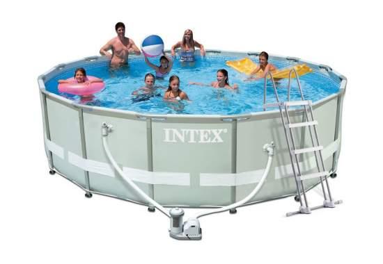 Intex 28322, каркасный бассейн 488 x 122 см Ultra Frame Pool
