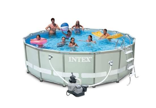 Intex 28324, каркасный бассейн 488 x 122 см Ultra Frame Pool