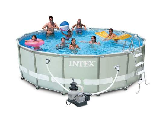 Intex 28332, каркасный бассейн 549 x 132 см Ultra Frame Pool