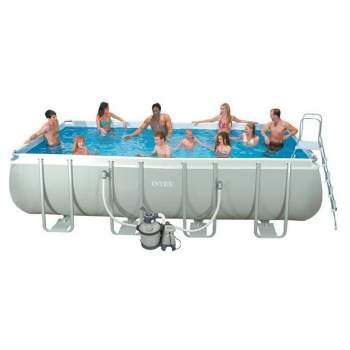 Intex 28352, каркасний басейн 549 x 274 x 122 см Ultra Frame Pool