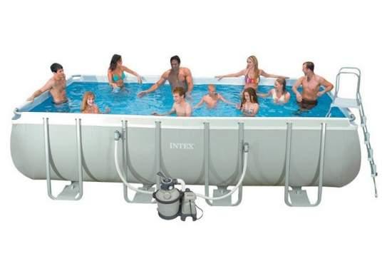 Intex 28352, каркасный бассейн 549 x 274 x 122 см Ultra Frame Pool