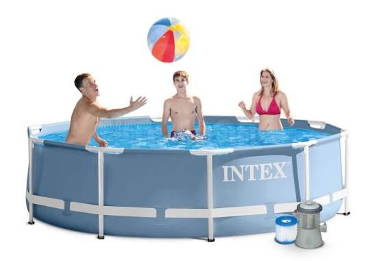 Intex 28702, каркасний басейн 305 x 76 см Prism Frame Pool
