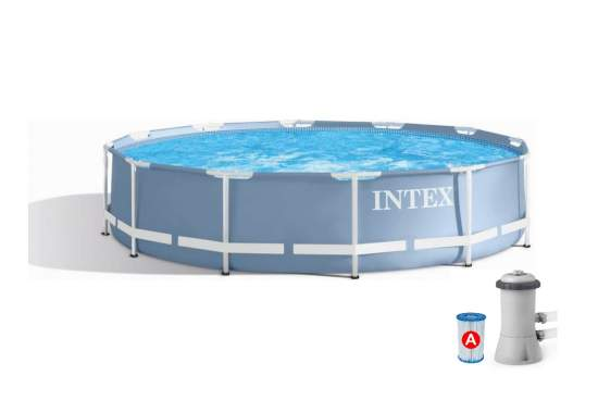 Intex 28712, каркасний басейн 366 x 76 см Prism Frame Pool