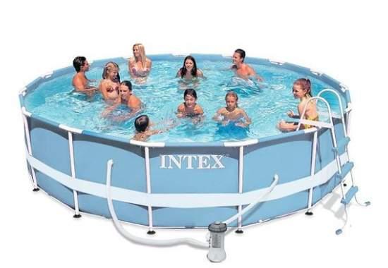 Intex 28718, каркасний басейн 366 x 99 см Prism Frame Pool