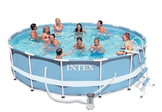 Intex 28718, каркасный бассейн 366 x 99 см Prism Frame Pool