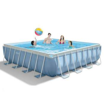 Intex 28766, каркасный бассейн 488 x 488 x 122 см Prism Frame Pool