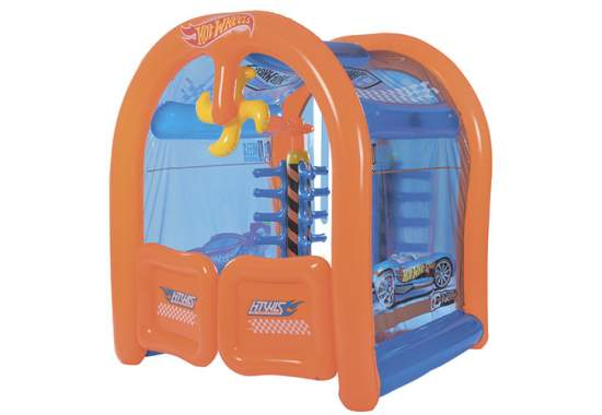 Bestway 93406, детский игровой центр Автомойка Hot Wheels