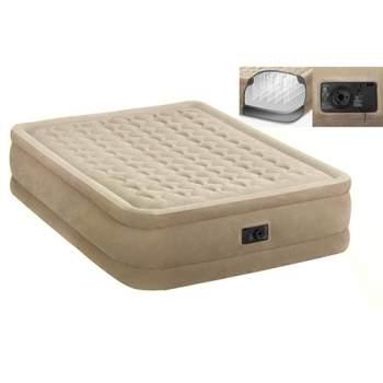 Intex 64458, надувне ліжко 203 x 152 x 46 см
