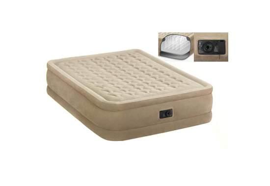 Intex 64458, надувная кровать 203 x 152 x 46 см