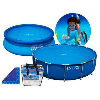 """Intex 29020, обігріваючий тент-покривало """"SOLAR COVER"""" для басейну, 244 см"""
