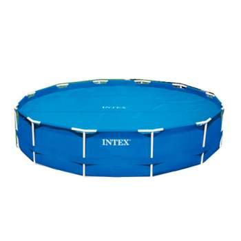 """Intex 29023, обігріваючий тент-покривало """"SOLAR COVER"""" для басейну, 457см"""