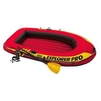 Intex 58358, надувная лодка EXPLORER PRO 300 Set