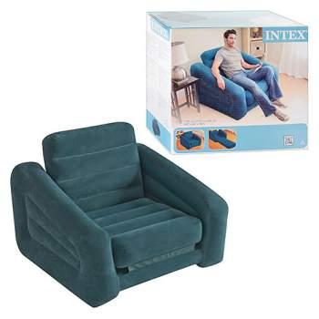 Intex 68565, надувне крісло 107 x 221 x 66 см розкладне