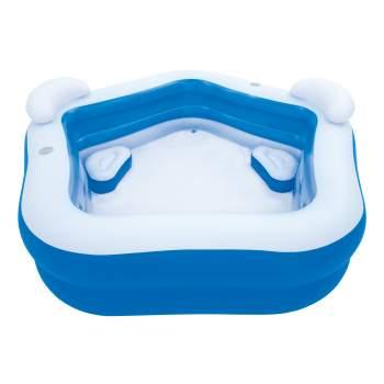 Bestway 54153, надувний дитячий басейн з сидіннями