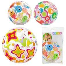 Intex 59040, надувний м'яч, морські мешканці, 51см