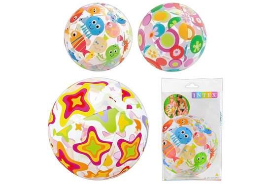 Intex 59040, надувной мяч, Морские обитатели, 51см