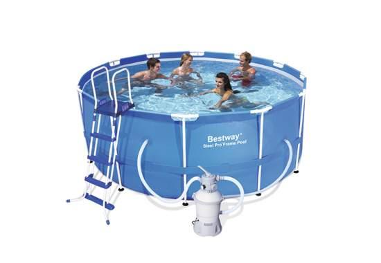 Bestway 56259, каркасний басейн 366 x 122 см Steel Pro Frame Pool