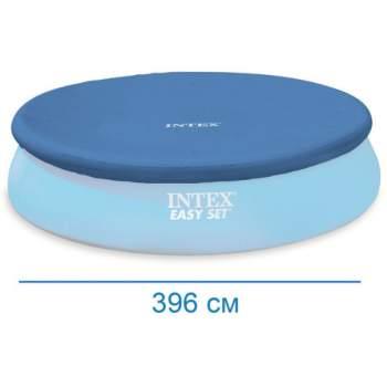 Intex 28026, тент для надувного бассейна, Д376см