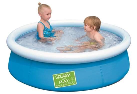 Bestway 57241, надувной бассейн, 3 цвета