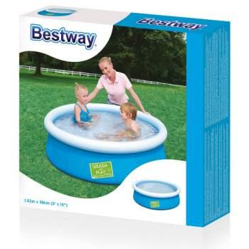 Bestway 57241, надувний басейн, 3 кольори