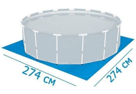 Bestway 58000, підстилка для басейнів, 70 г / м2, 274х274см