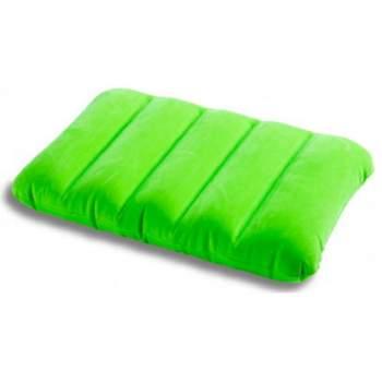 Intex 68676-Z, надувная подушка, зеленая