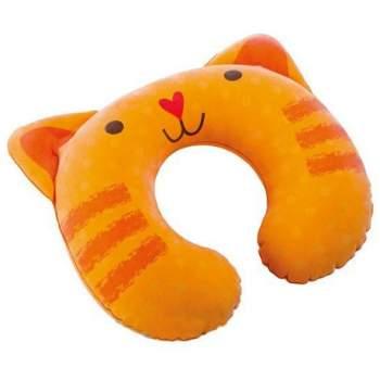 Intex 68678-O, надувная подушка-подголовник, котенок