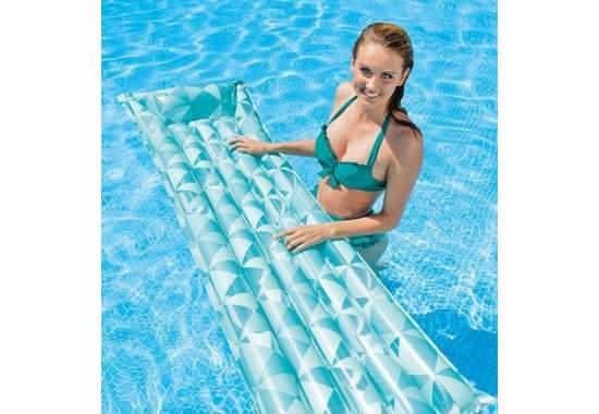 Intex 59712, надувной матрас для плавания