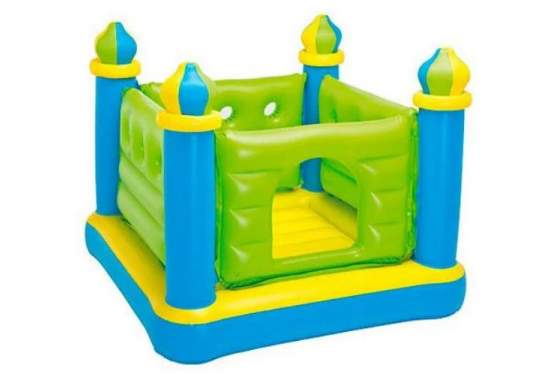 """Intex 48257, дитячий надувний батут """" Замок"""""""