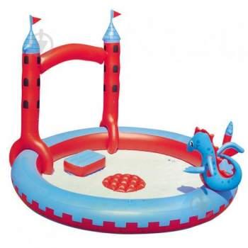 Bestway 53037, дитячий надувний Центр Замок Дракона