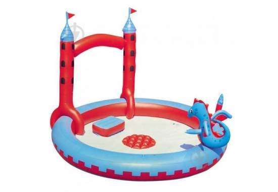 Bestway 53037, детский надувной центр Замок Дракона