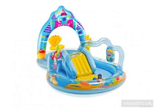 Intex 57139, дитячий ігровий центр басейн з гіркою Русалки
