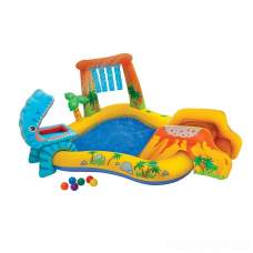 Intex 57444, детский надувной центр бассейн Динозавры