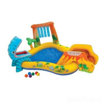 Intex 57444, дитячий надувний центр басейн Динозаври