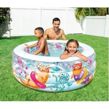 "Intex 58480, надувний дитячий басейн ""Акваріум"""