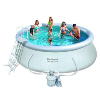 Bestway 57242, надувний басейн Fast Set