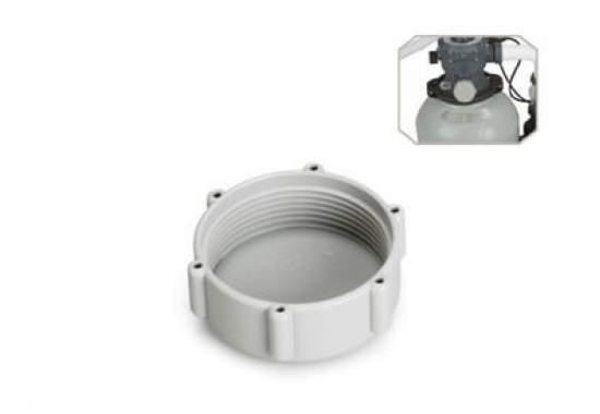 Intex 11131, заглушка под резьбовое отверстие шлангов 38мм к песчаным фильтрам Intex, Bestway
