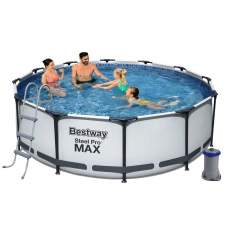 Bestway 56418, каркасный бассейн 366 x 100 см Steel Pro Frame Pool