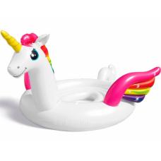 Intex 57296-unicorn, надувной плот для вечеринок Единорог 429x302x152 см