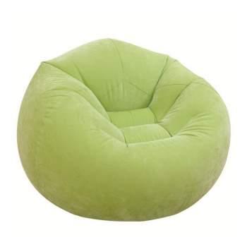 Intex 68569-Z, надувне крісло 107 x 104 x 69 см, зелене