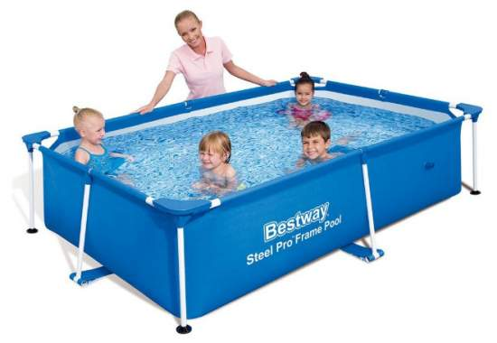 Bestway 56402, каркасный бассейн 239 x 150 x 58 см Steel Pro Frame Pool