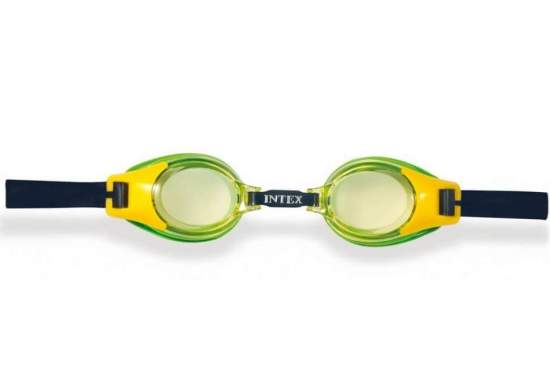 Intex 55601-green, дитячі окуляри для плавання, зелеНі