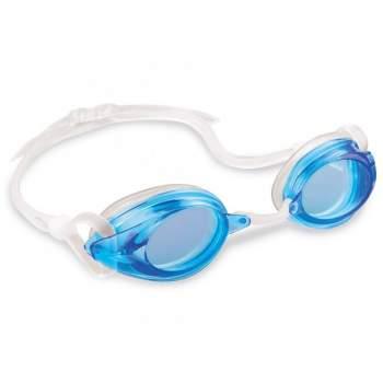 Intex 55684-blue, очки для плавания, от 8 лет. Голубые