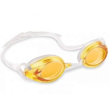 Intex 55684-yellow, очки для плавания, от 8 лет. Желтые