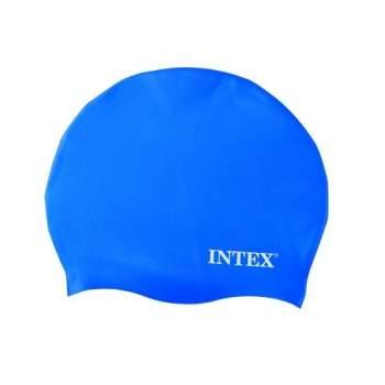 Intex 55991-blue, шапочка для плавання, від 8 років. Блакитний