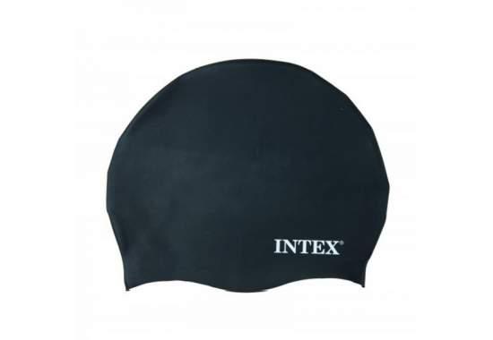 Intex 55991-grey, шапочка для плавания, от 8 лет. Серая